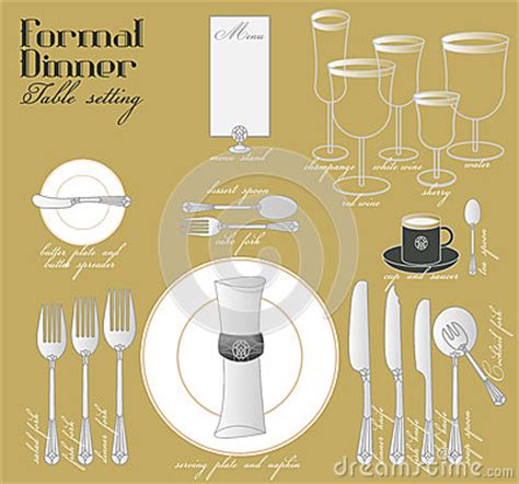 fine dining table setting fine dining table set up picture formal dinner table setting stock photo image 54629489
