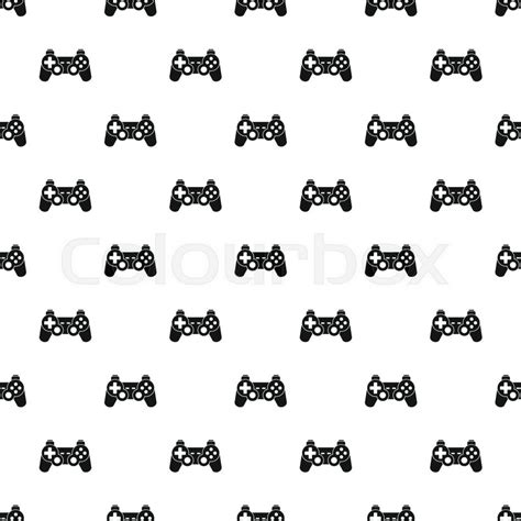 pattern to very simple game video game controller pattern simple illustration of