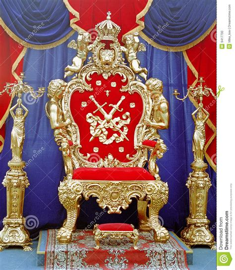 Accent Armchair Tsar Throne Stock Photo Image Of Majestic Historical