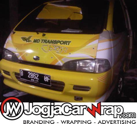 sticker branding mobil jogja daihatsu zebra espass