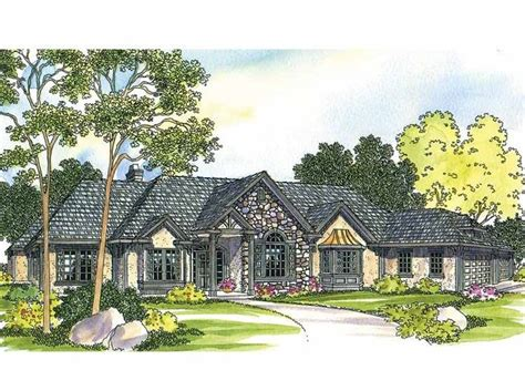 french country ranch house plans french country house plan with 2927 square feet and 4