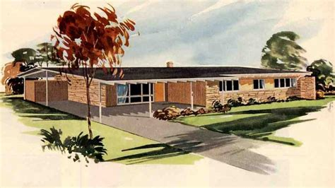 1950 style homes 1950s ranch style house homedesignpictures
