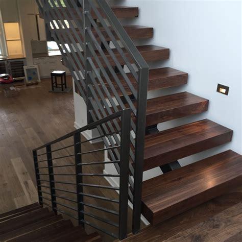 Houzz Bathroom Ideas black walnut 4 quot stair treads contemporary staircase