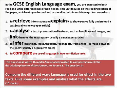 gcse english language for awesome application essays tips from around the web the gcse english writing a newspaper