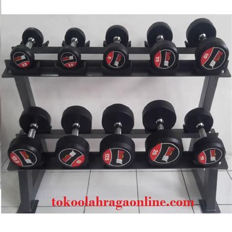 Alat Olahraga Dumbbell dumbbels rack set tokoolahragaonline