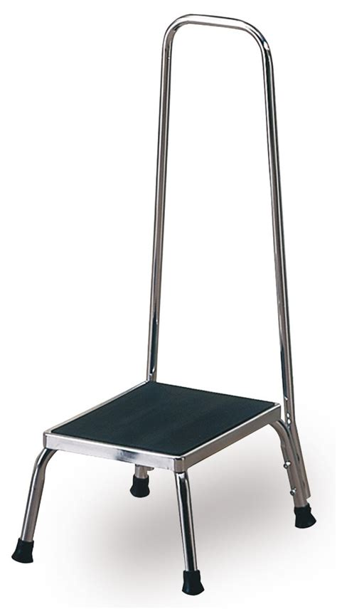 2 Step Stool With Handrail by Step Stool With Handrail Techno Aide