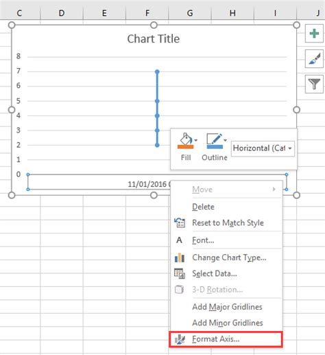 excel format x axis date how to create a chart with date and time on x axis in excel