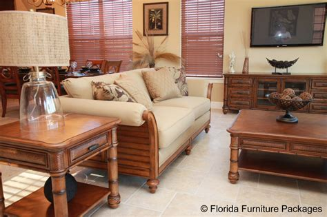 florida room furniture island feel tropical family room orlando by florida furniture packages