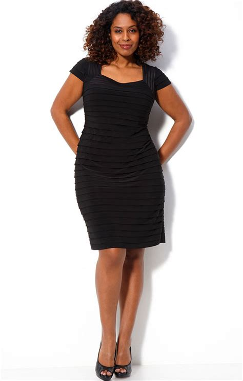 14 Top Dresses For Plus Sized by Black Plus Size Dresses 14