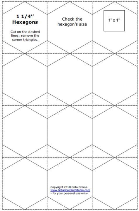 free paper piecing hexagon templates free half inch hexagon printable for paperpiecing hexies