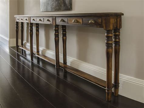 narrow console table for hallway awesome hallway table stabbedinback foyer