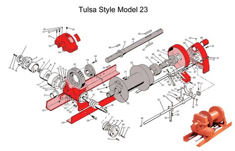 tulsa winch parts diagram oilfieldsupply