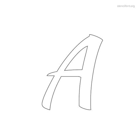 Letter Outlines Photoshop by Stencil Font Free Downloads For Windows Word And Mac Showcasing Font Stencils Suitable For