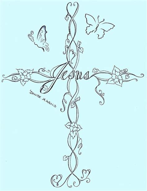 small girly cross tattoos best 25 feminine cross tattoos ideas on