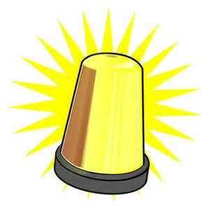 Police Strobe Lights Warning Lamp Clipart Clipground