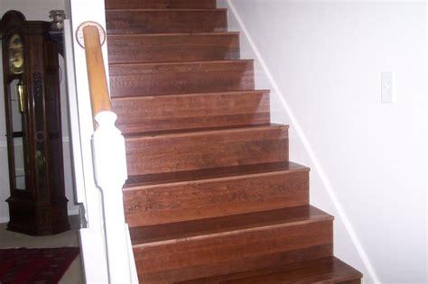 engineered wood on stairs yelp