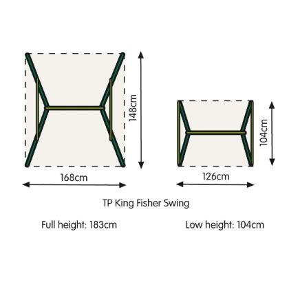 standard swing set dimensions tp early fun single swing swings for children