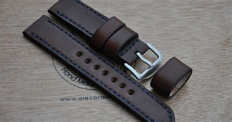 Handmade Leather Watches - centaurstraps handmade leather straps 22mm
