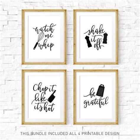 Poster Quotes Wall Bingkai Kayu Kitchen kitchen signs kitchen print set printable me