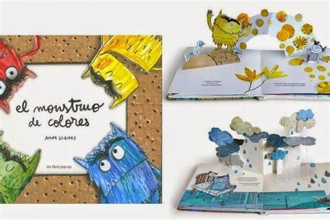 libro kandinsky un pop up el monstruo de colores un libro pop up anna llenas serra espaciolo