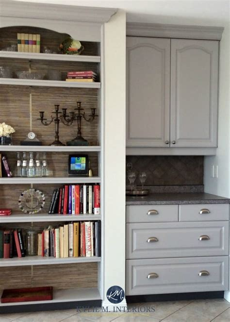 painting oak cabinets gray benjamin moore baltic gray painted oak cabinets with beige