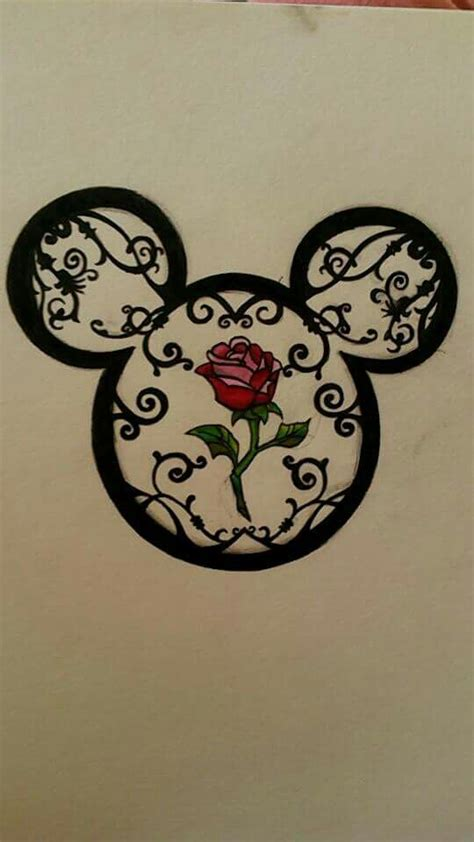disney rose tattoo 25 best ideas about disney tattoos on small