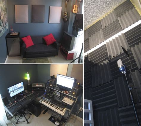 bedroom music studio rockin hardware 10 home recording studios