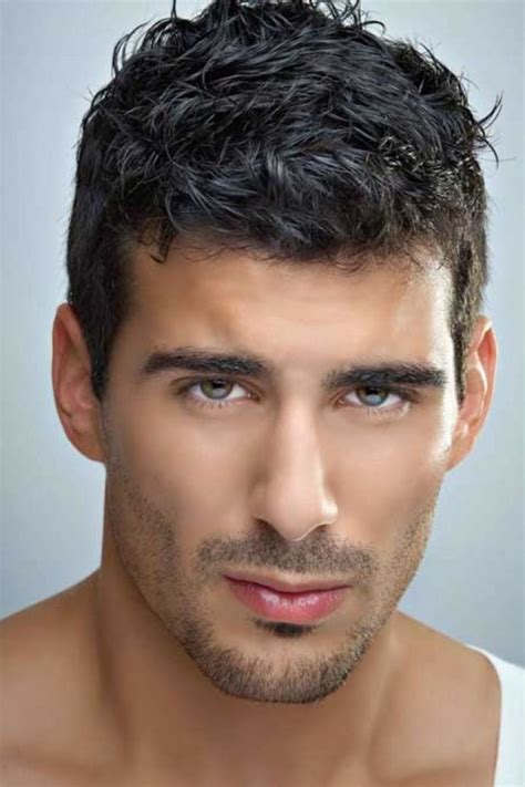what is best men haircut for thick coarse