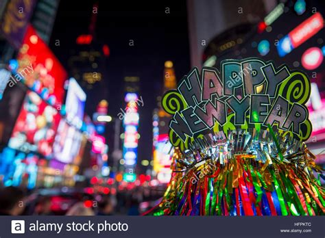 new year 2017 new york happy new year 2017 hat celebrating in times square
