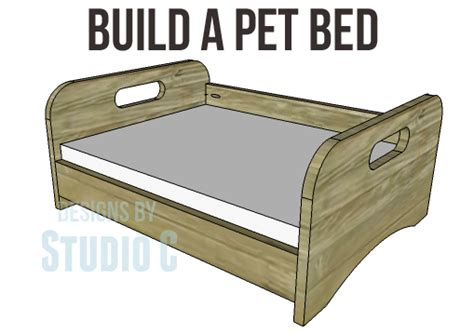 dog bed plans build a place for your furry friend to nap designs by