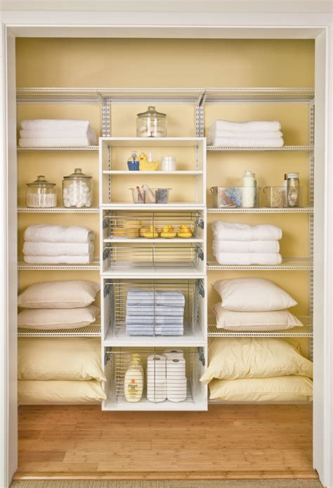 Linen Closet by Lovely Organized Linen Closets