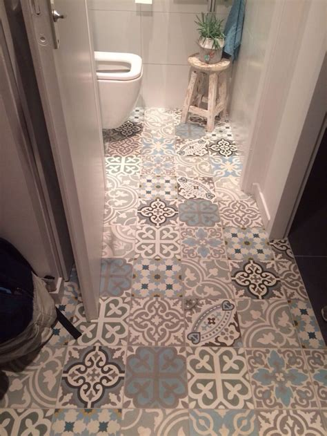 tiling a bathroom floor on concrete best 20 cement tiles bathroom ideas on pinterest