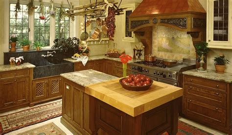 House Design Inspiration by Tudor Style Kitchen