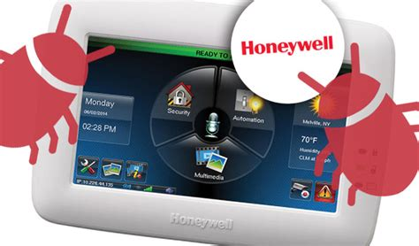 pair of bugs open honeywell home controllers up to easy
