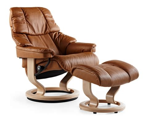 scandinavian leather recliner chairs reno series stressless recliners