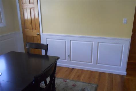 dining room wainscoting ideas innovative dining room wainscoting all home decorations