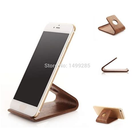 Wood Mobile Holder aliexpress buy wooden phone stand mobile holder for iphone 6 plus samsung galaxy s3 s4 s5
