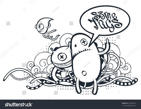 free vector doodle characters graffiti doodle vector doodle characters stock vector