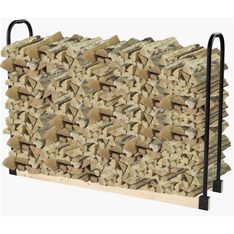 Firewood Rack Bracket Kit by Pleasant Hearth Adjustable Firewood Rack Bracket Kit