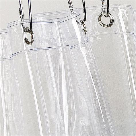 Plastic Shower Curtains Vinyl Shower Curtain Liner Clear Walmart