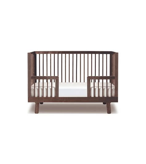 Oeuf Sparrow Crib Walnut by Oeuf Sparrow Collection Conversion Kit In Walnut
