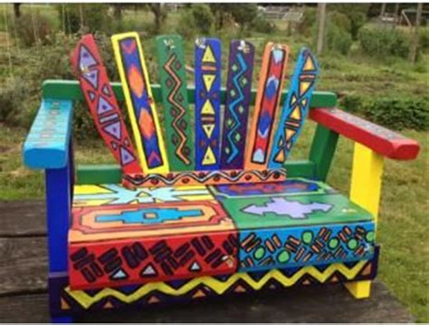 hand painted garden benches 17 best ideas about painted benches on pinterest benches