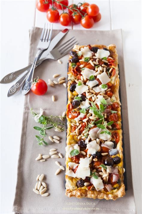 easy sweet and savory cherry tomato tart disturbingly delicious cherry tomato savory tart