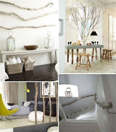 mobili rustici fai da te alberi idee con rami arredamento idee fai da te alberi