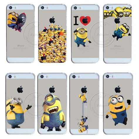popular minions iphone 5 buy cheap minions iphone 5 lots from china minions iphone 5