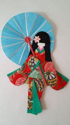 Diy Miniatur Papercraft Serangga Kumbang Jepang origami ningyo doll origami ningyo dolls origami paper and dolls