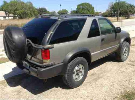 purchase used 1998 chevy blazer 4x4 in bethel ohio united states buy used 1998 chevrolet blazer 4x4 only 65000 miles 2 door florida southern suv in winter