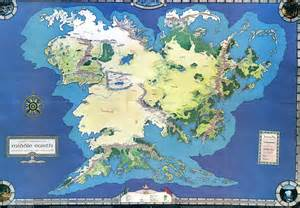 east middle earth map does a detailed map of arda exist lotr