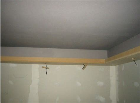 Build Interior Soffit by Home Theater Interior Finish Soffit Top Painted Building