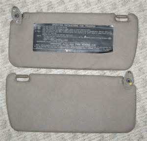Nissan Hardbody Sun Visor Sun Visors For Sale Page 433 Of Find Or Sell Auto Parts